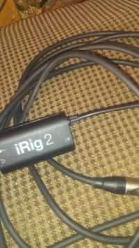 Black irig 2 cable CALGARY