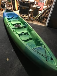 green and white kayak with paddle Bowie, 20720
