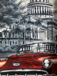 Havana, Cuba Painting. Original. East Orange, 07018