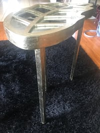 Mirrored leaf table!  Pickering