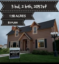 For Sale 3BR 2BA 1.58 acres Nampa, 83686