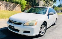 $2990 VERY FIRM ' NON Negotiable ' 2006 Pearl White Honda Accord LX Silver Spring
