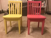 two brown wooden windsor chairs 611 mi