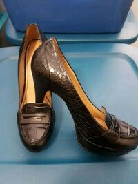 Nine West size 9, brand new, black leather Mississauga, L5A 3Y3