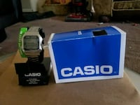 New Casio digital steel watch  2268 mi