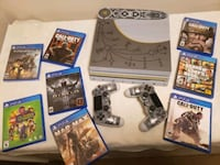 Sony PS4 PRO 1TB GOD OF WAR w/ 2 controllers and 8games Toronto, M5B 1M4