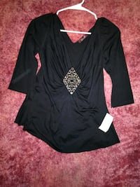 black and white long-sleeved dress Kennewick, 99336