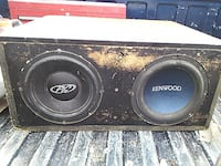 black and gray Pioneer subwoofer TOPEKA