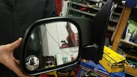 black car side mirror Dorval, H9S