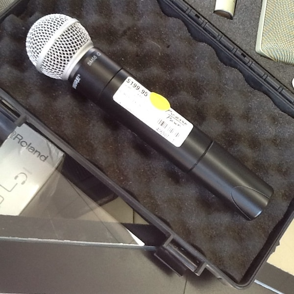 used shure microphone for sale in raleigh letgo. Black Bedroom Furniture Sets. Home Design Ideas
