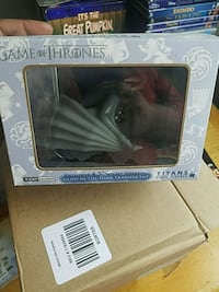 Game of thrones glow in dark dragon