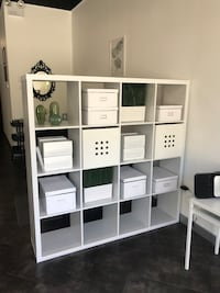 2 shelving units for sale decor not included but could take it for $220 with decor !  Surrey, V3W 3M5