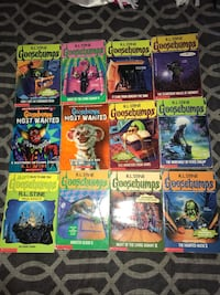 goosebumps book series  Clarington, L1C 0K9