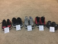 Kids shoes $10 each or $50 for all. Clarksville, 37040
