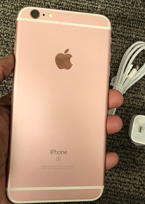 128gb Rose Gold Pink Iphone 6s Plus 6s Factory Unlocked