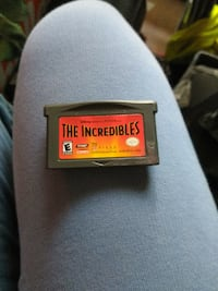 Disney's the Incredibles Gameboy advance game Summerville