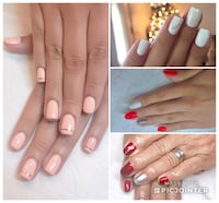 Gel sets on natural nails only  Long Beach, 90810