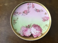 Haviland Limoges France Plate/Hand Painted Rowland Heights