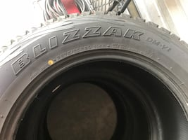 Blizzak tires - set of 4