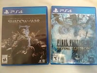 PS4 Games opened but never used Abbotsford, V2T 3H1