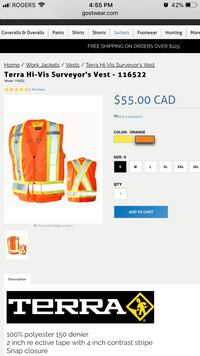 Terra Safety Vests
