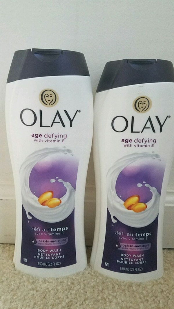 2 new Olay body wash 22oz for $10
