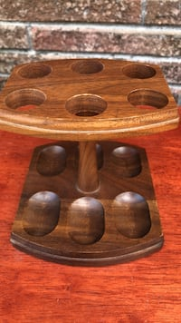 Vintage solid wood pipes holder ( well made good condition ) Biloxi, 39531