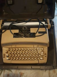 An old typewriter it is electric