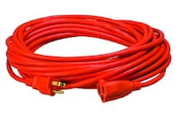NEW Vinyl Outdoor Extension Cord, 50', Red   Toronto, M6N 4B4