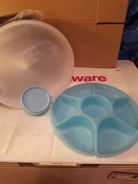 New tupperware dipping plate Laval, H7W 4Z5
