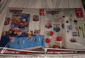 NEW Disney Cars party decorations