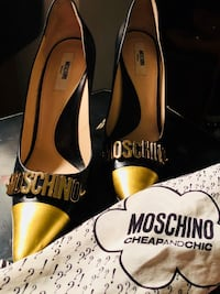 Authentic Moschino Heels is size 38.5, no box or dustbag included. Open to reasonable offers  Gaithersburg, 20878