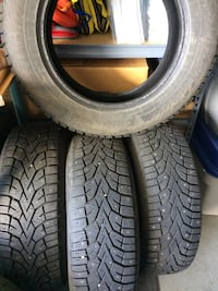 4 Winter Tires with Studs