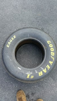Nascar Tire Race Used Laurel, 19956