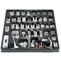 42 PCS Sewing Machine Presser Foot Feet Tool Kit Set For Brother Singer Domestic 788 km