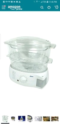 Oster 6 qt. Two Tiered Food Steamer-DISCONTINUED Dallas, 75202