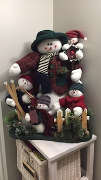 Christmas Snowman Decor Brampton, L6R 0P7