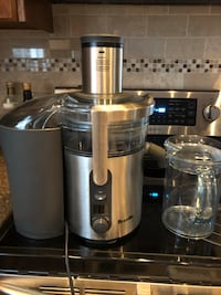stainless steel and black juice extractor Barrie, L4N 4S1