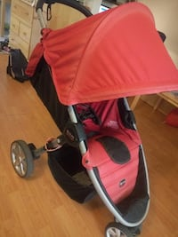 Britax red and black stroller Richmond