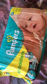 Pampers Swaddlers disposable diaper pack Edmonton, T5E 5Y6