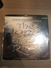 Lord of the Rings 1978 Original Soundtrack Vinyl Mississauga, L4Y 3S4