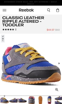 Infant Shoes (Reebok CLASSIC LEATHER RIPPLE ALTERED - TODDLER) Centreville, 20121