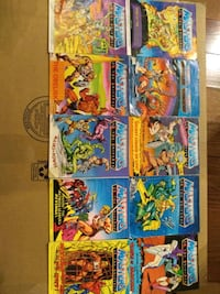 Heman masters of the universe mini comics motu Toronto, M9C 0A5