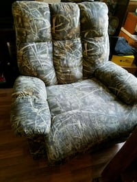 brown and white floral sofa chair Lemoore, 93246