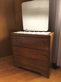 Two -Small dresser and mirror $50 each Can sell separately  Toronto, M9N 3S7