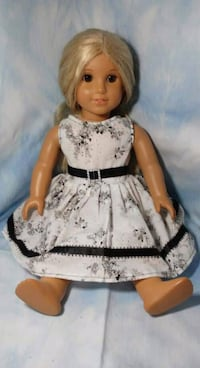 women's white and black floral dress Walkersville, 21793