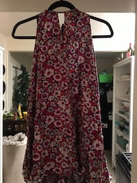 Red and black floral sleeveless dress San Diego, 92113