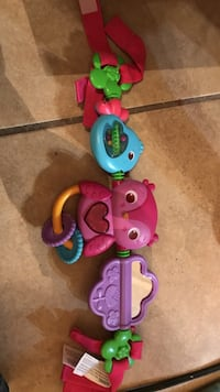 Car seat toy entertainer like new