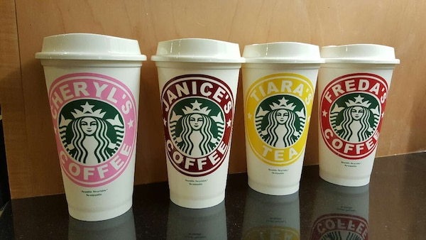 Personalized Starbucks Reusable Cups
