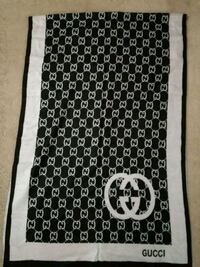 Black and white cashmere winter scarf Mississauga, L4Z 3M4